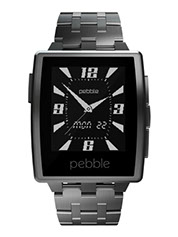 Pebble Steel - NewsWatch